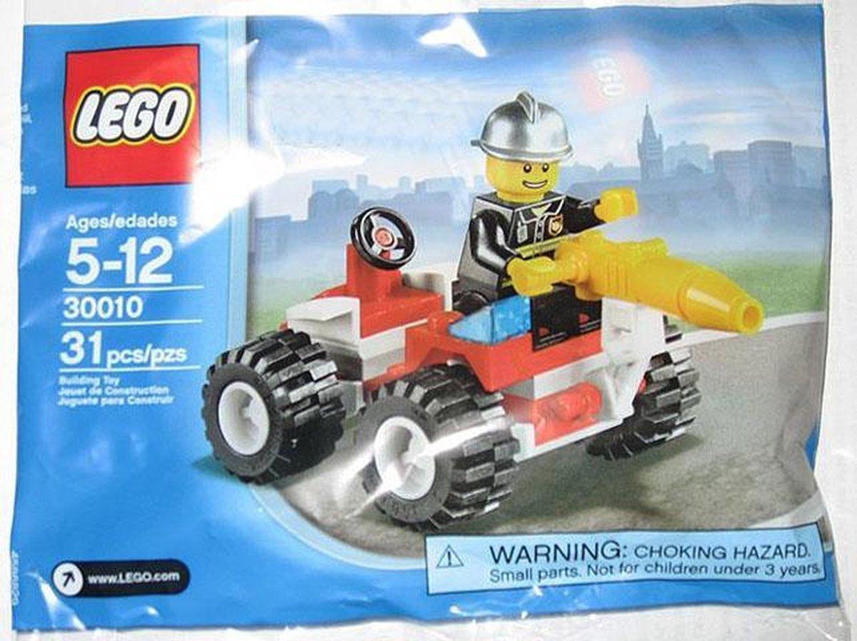 LEGO City Brandweerman - 30010