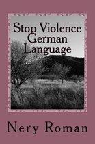Stop Violence German Language