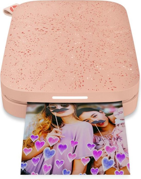 HP Sprocket New Edition - Mobiele Fotoprinter - Blush