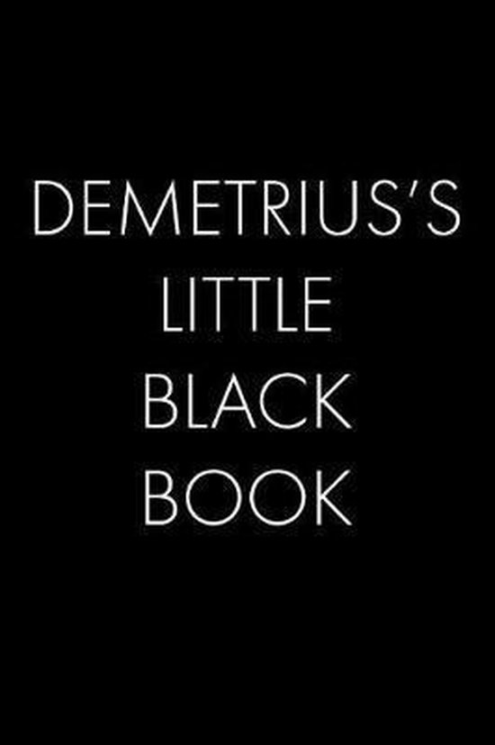 Demetrius's Little Black Book