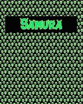 120 Page Handwriting Practice Book with Green Alien Cover Samura