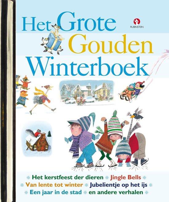 Boek cover Het Grote Gouden Winterboek van Richard Scarry (Hardcover)