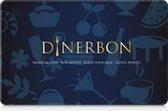 Dinerbon - Restaurant giftcard - 150,-