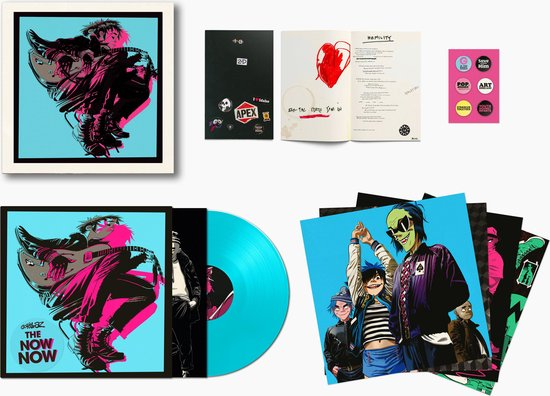 The Now Now (LP) - Gorillaz