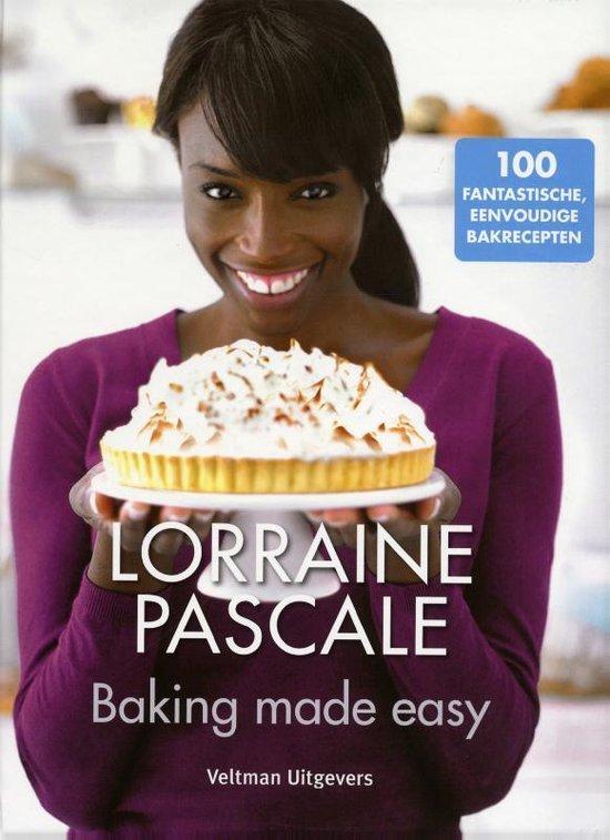 Cover van het boek 'Baking made easy'
