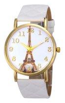 Eiffeltoren Horloge - Wit