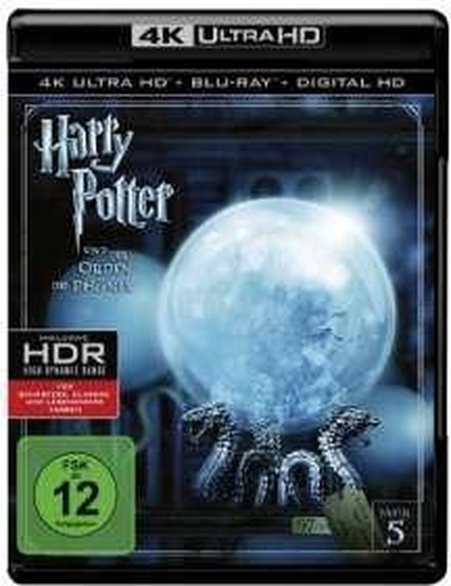 Harry Potter And The Order Of The Phoenix (4K Ultra HD Blu-ray) (Import)-