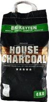 House of Charcoal Premium Briketten - 4kg - FSC