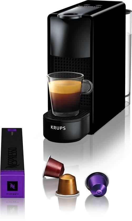 Krups Nespresso Essenza Mini XN1108 - Koffiecupmachine - Zwart