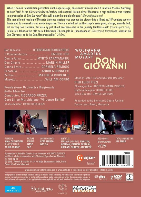 Don Giovanni Macerata 2009