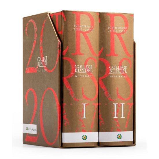 Boek cover Wolters Kluwer Collegebundel 2019-2020 van Henk Kummeling (Hardcover)