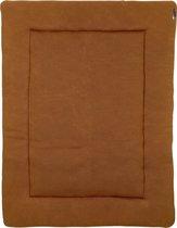 Meyco Knit basic boxkleed - 77x97 cm - camel