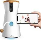 Furbo Hondencamera snackuitgave Hondenvoederapparaat, honden camera - Wit