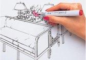COPIC Marker sketch, 36er Set ´Basis´