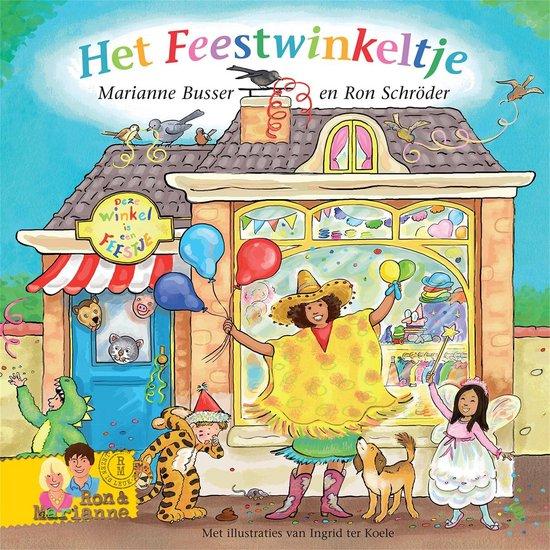 Boek cover De Winkeltjes - Het feestwinkeltje van Ron Schroder (Onbekend)