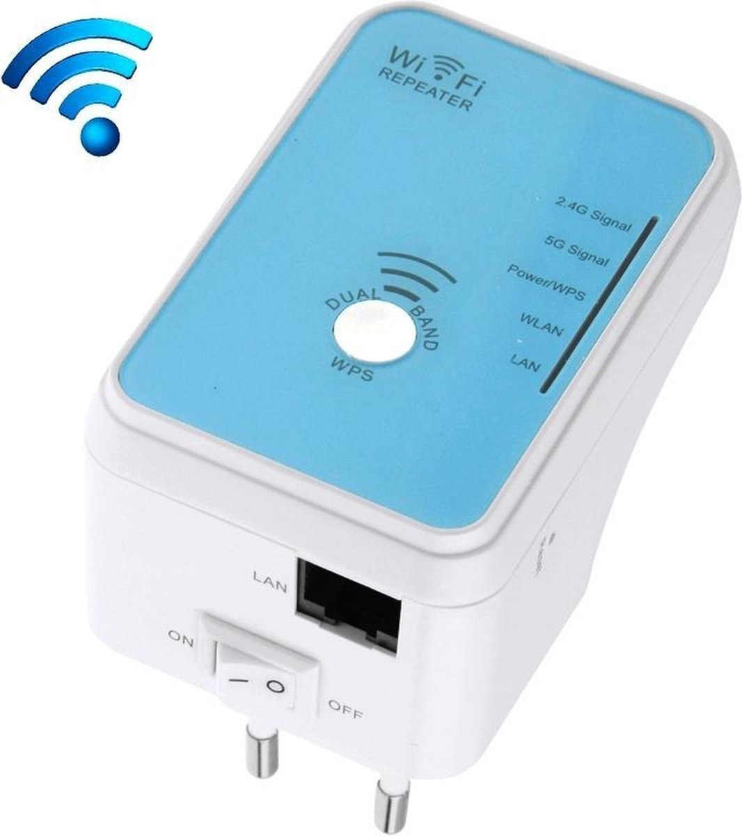 WS-WN568N5 Concurrent Dual Band Wifi Repeater Maximum Speed up to 5GHz 150Mbps / 2.4GHz 150Mbps Signal Boosters, Sign Random Delivery