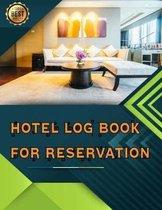 Hotel Log Book For Reservation