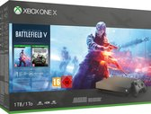 Afbeelding van Xbox One X console 1 TB (Gold Rush Special Edition) + Battlefield V (Deluxe Edition) + Battlefield 1943