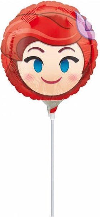 Aluminium ballon Ariel™ Emoji™ - Feestdecoratievoorwerp