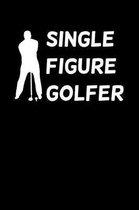 Single Figure Golfer