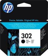 HP 302 - F6U66AE - Inktcartridge Zwart / Black