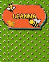 Handwriting Practice 120 Page Honey Bee Book Leanna