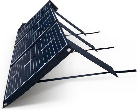 Mobisun Pro 250W powerbank met zonnepaneel