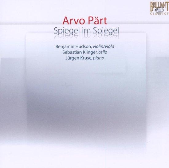 Arvo Part: Spiegel im Spiegel