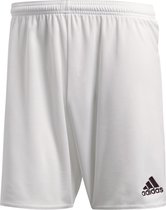 adidas Parma 16 Shorts Heren Sportbroekje - Wit/Zwart - Maat M