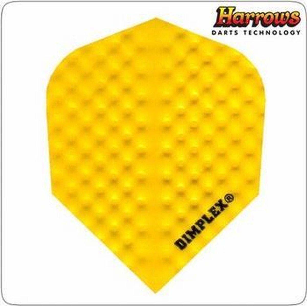 Harrows Dimplex Solid Yellow Set à 3 stuks
