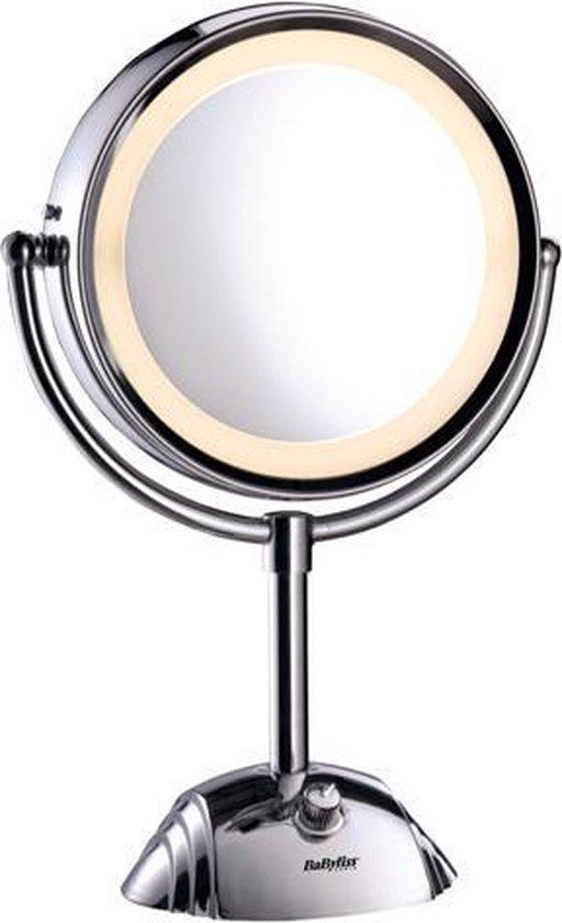 BaByliss 8438E Spiegel met Ringverlichting - Make-upspiegel - Ø20,5cm