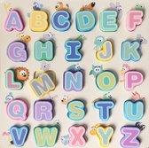 Houten Alfabet Puzzel - Inlegpuzzel - ABC - Letters leren - Kinderen - Peuters