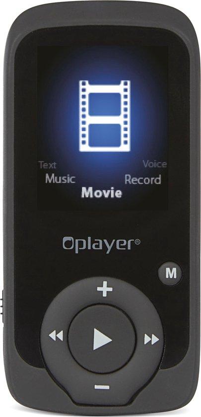 Nikkei NMP4BKBT - Digitale Audio/Video MP4-speler met 8GB Opslag, Bluetooth, Radio, Pedometer en JPEG picture - Zwart