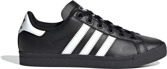 adidas Coast Star J Unisex Sneakers - Core Black/Ftwr White/Core Black - Maat 38