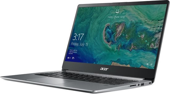 Acer Swift 1 SF114-32-C0Q9 Zilver Notebook 35,6 cm (14'') 1920 x 1080 Pixels Intel® Celeron® 4 GB DDR4-SDRAM 64 GB eMMC Windows 10 S