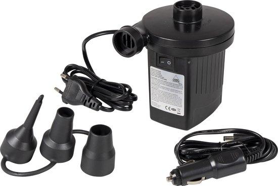 Camp-Gear Elektrische pomp  luchtbed - 12 en 230 Volt - 230 Liter/min