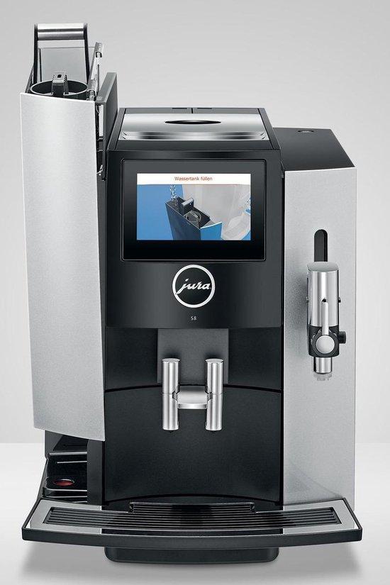 JURA S8 Espressomachine - Moonlight Silver