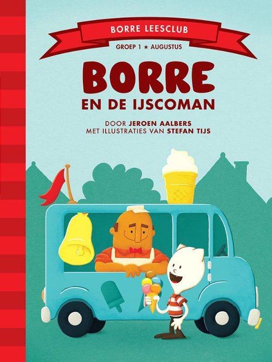 De Gestreepte Boekjes  -   Borre en de ijscoman