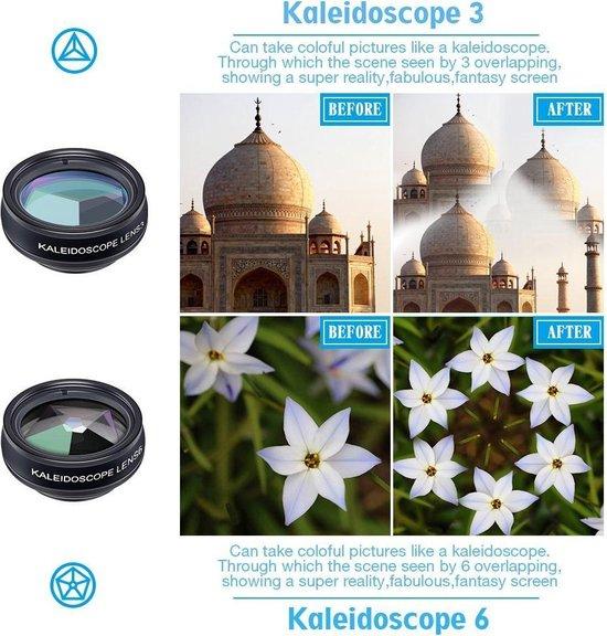 APEX Series 10 in 1 HD Telefoon Camera Lens Kit