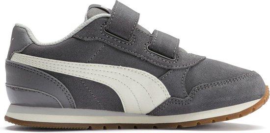 bol.com | Puma Sneakers - Maat 33 - Unisex - grijs/ wit