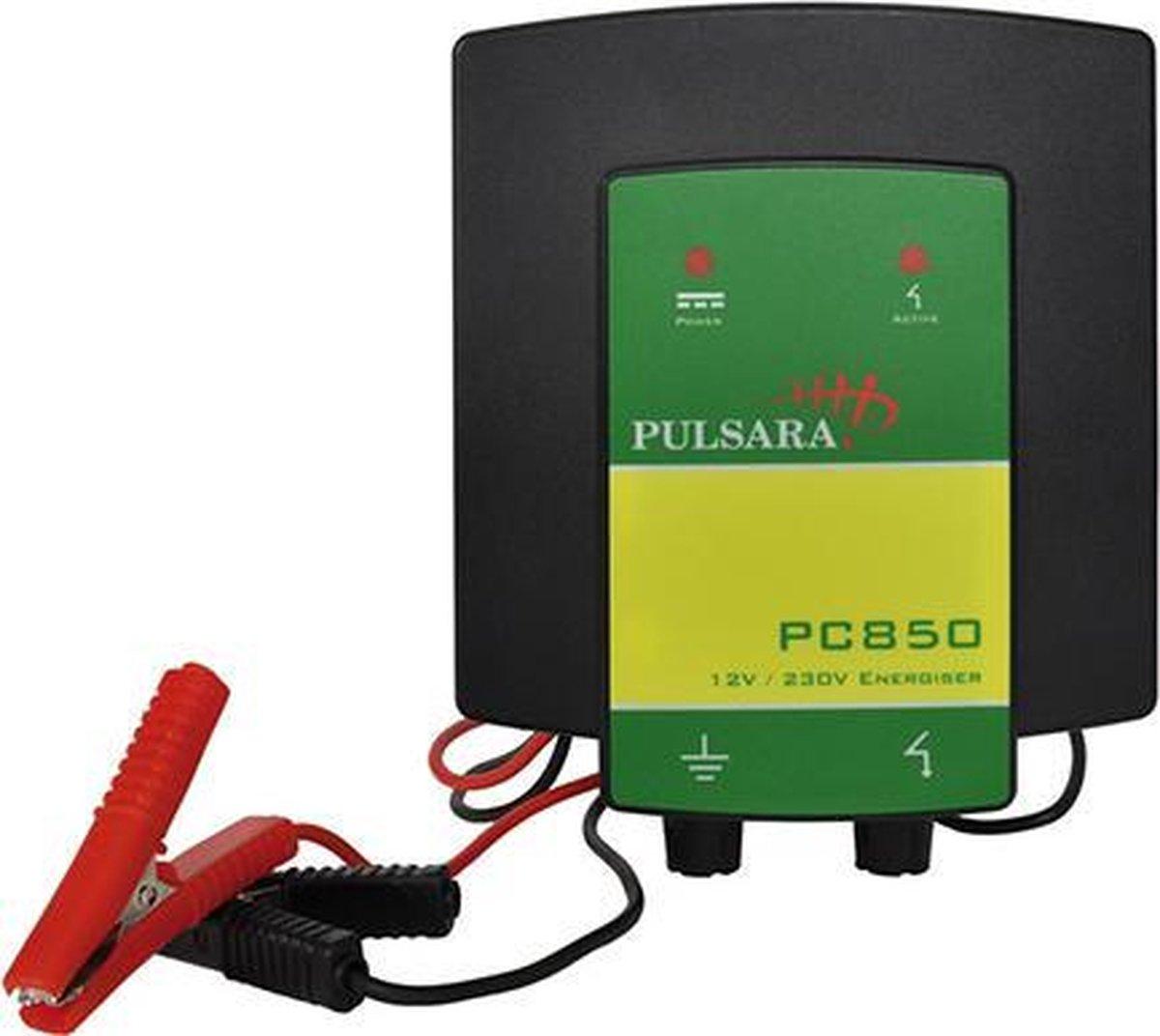 Schrikdraadapparaat Pulsara PC850 12V/230V