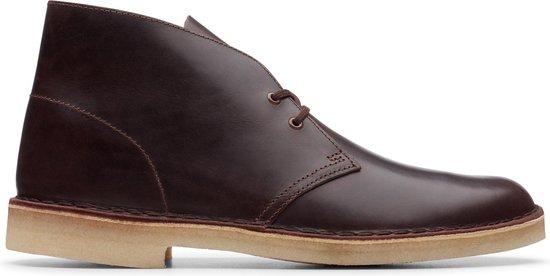Clarks Desert Boot Heren Veterboot - Chestnut Leather - Maat 42