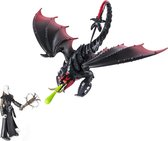 Dragons Draak & Viking Grimmel Deathgrippers Speelfiguren