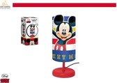 Disney - Mickey Mouse - Nachtlampje kinderen - Rood - 29cm
