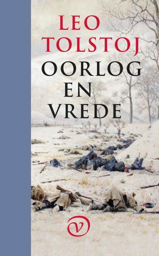 Boek cover Oorlog en vrede van L N Tolstoj (Hardcover)