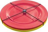 Zak!Designs Hot Summer Saladebord - Rond - 4 stuks - Ø 24 cm