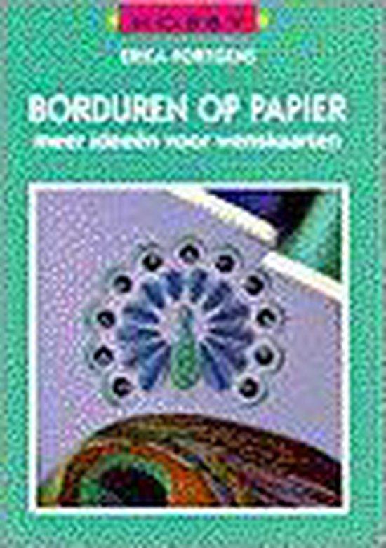 BORDUREN OP PAPIER - Erica Fortgens pdf epub