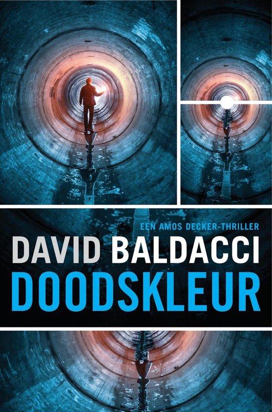 Boek cover Amos Decker - Doodskleur van David Baldacci (Onbekend)