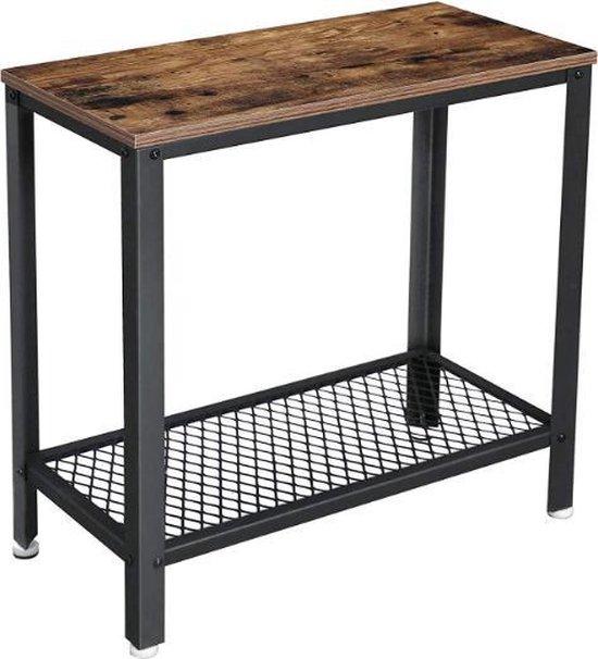 Betere bol.com | MIRA - Industriële bijzettafel | Smalle tafel | 60 x 30 WQ-48