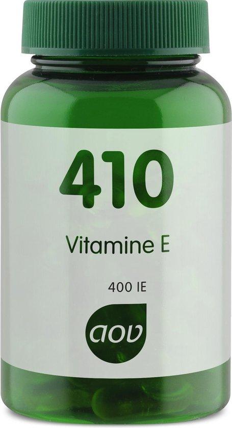 AOV 410 Vitamine E - 60 vegacaps - Vitaminen - Voedingssupplementen
